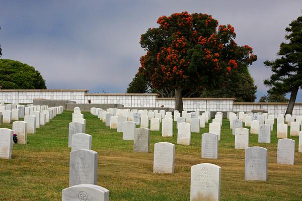 Rosencrans National Cemetery, Point Loma, San Diego, California