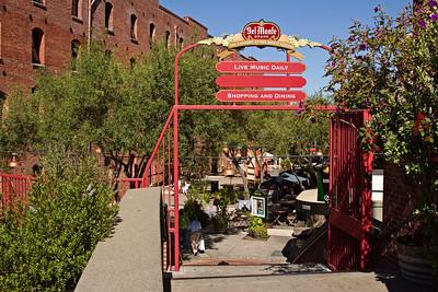 Entrance to Del Monte Square, San Francisco CA