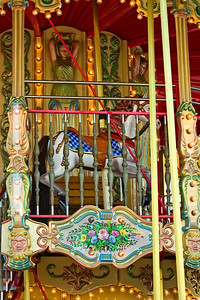 San Francisco Carousel at Pier 39 in Fisherman's Wharf