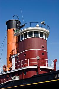 Tugboat Hercules at the San Francisco Maritime Museum