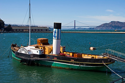 The Paddle Tug Eppleton Hall at the San Francisco Maritime Museu