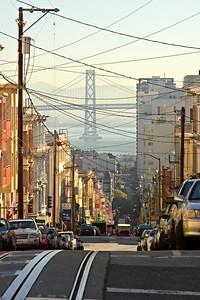 Steep San Francisco Street
