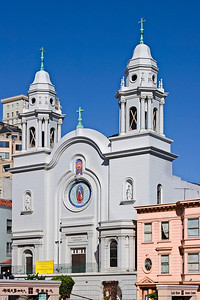 Spanish Church, San Francisco CA