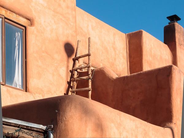 Adobe Architecture, Downtown Santa Fe
