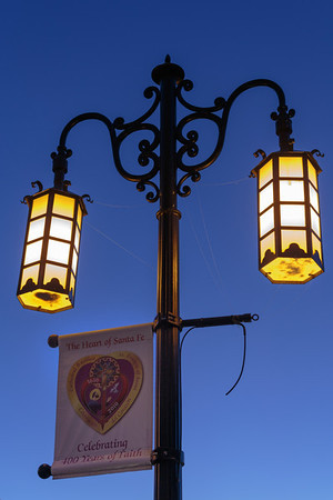 Downtown Lamposts