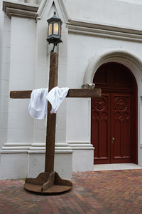 Easter Cross, Lutheran Church of the Ascension, Wright Square