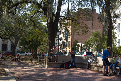 Chippewa Square, Savannah Georgia