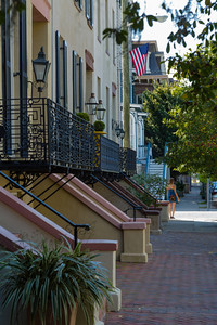 Historic District Homes, Savannah, Georgia