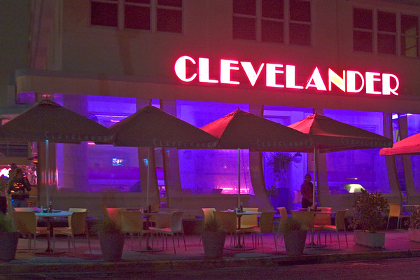 Clevelander Hotel and Restaurant, South Beach