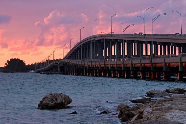 Key Biscayne Bridge, Miami, Florida