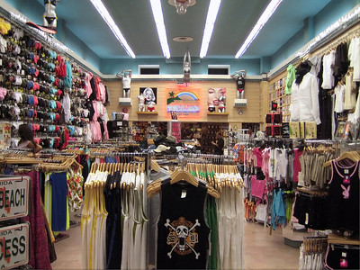 Tourist Tee Shirt Shop, Miami Beach Florida