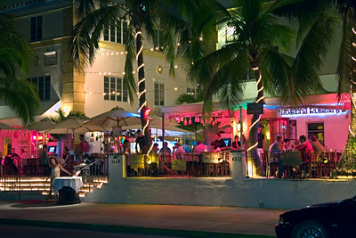 Sidewalk Restaurant in South Beach, Florida