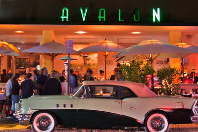 Avalon Hotel and Vintage Buick