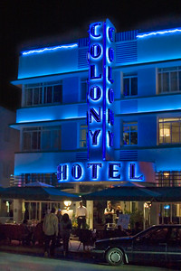 Colony Hotel, South Miami Beach FL