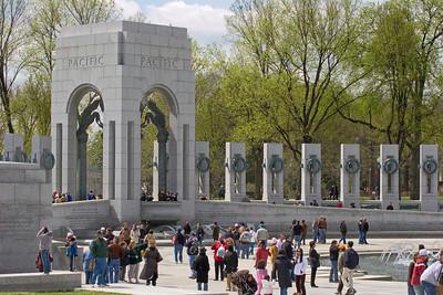 Pacific Arch at the World War II Memorial, Washington DC