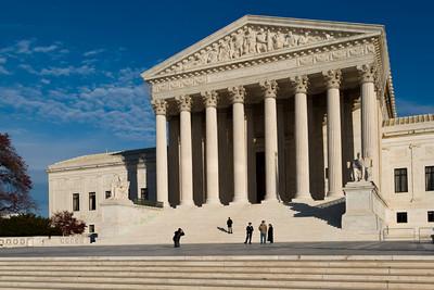 Supreme Court Building, Washington DC.