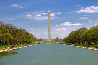 Washington Monument from the Reflecting Pool, Washington DC