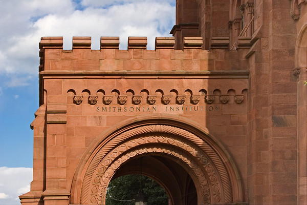 Entrance to the Smithsonian Castle