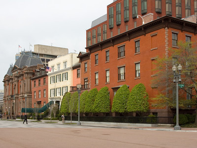 Blair House and Smithsonian Art Museum, Washington DC