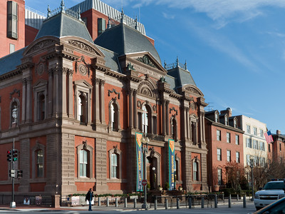 Smithsonian Museum, across from the White House