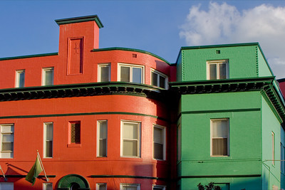 DuPont Circle Colorful Houses