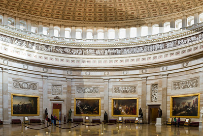 Interior of the United States Congress, Washington DC