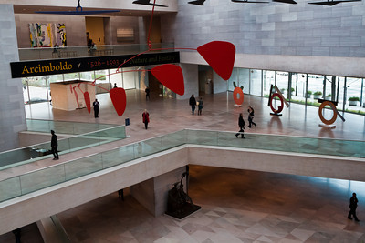 Mezzanine of the National Gallery of Art, East Gallery