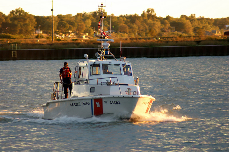 Photo By Bob Bodnar.......................................Lorain Coast Guard  9/9/2010