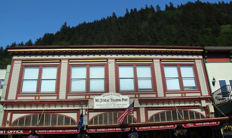 Juneau Alaska, Downtown Historic Trading Post Building
