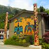 Juneau Alaska, Native American Home