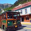 Juneau Alaska, Trolley Tour Bus