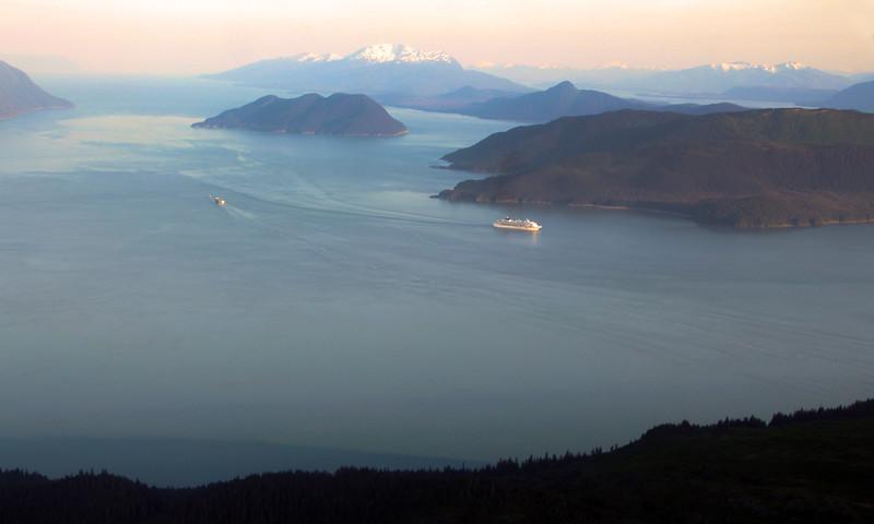 Juneau Alaska, View of Area Near Stephens Passage