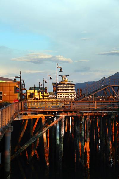 Juneau Alaska, Pier Reflections