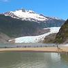 Juneau Alaska, Mendenhall Glacier & Nugget Falls Panorama