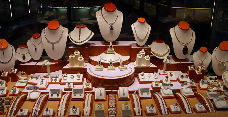 Juneau Alaska, Fine Jewelry Display