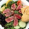 Juneau Alaska, Twisted Fish Co. Alaskan Grill, Ahi Spinach Salad
