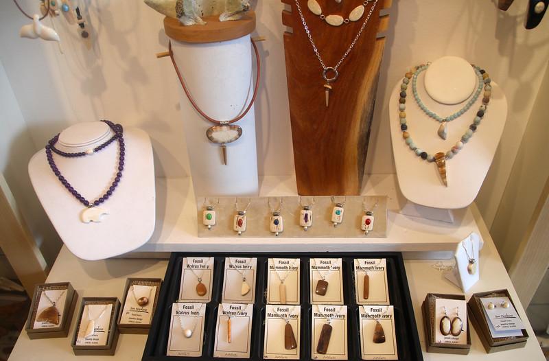Juneau Alaska, Fossil Ivory Jewelry, Jim Hopkins