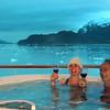 Un-Cruise Adventures, Margerie Glacier, Hot Tub on Deck