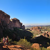 Arizona, Scottsdale, Camelback Mountain Echo Trail Hikers