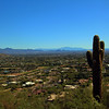 Arizona, Scottsdale, Camelback Echo Trail, East View