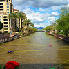 Arizona, Scottsdale, Waterfront Canal