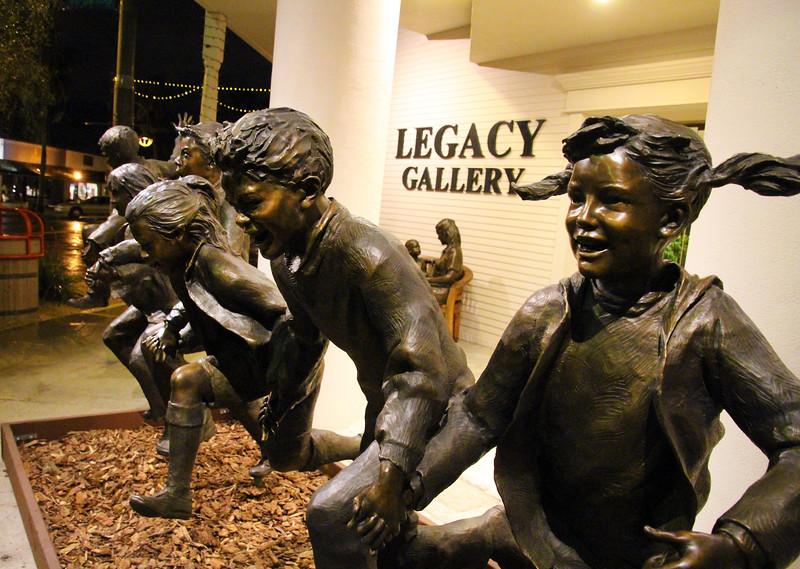 Arizona, Scottsdale, Legacy Gallery Statues