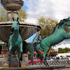 Arizona, Scottsdale, Wild Horse Fountain