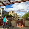 Arizona, Scottsdale, Waterfront Pedestrian Bridge