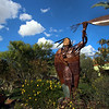 Arizona, Scottsdale, Native American Bronze, Old Town