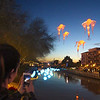Arizona, Scottsdale, Canal Convergence Water & Light Display