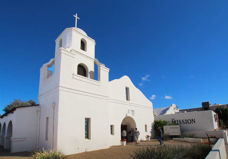 Arizona, Scottsdale, Old Adobe Mission