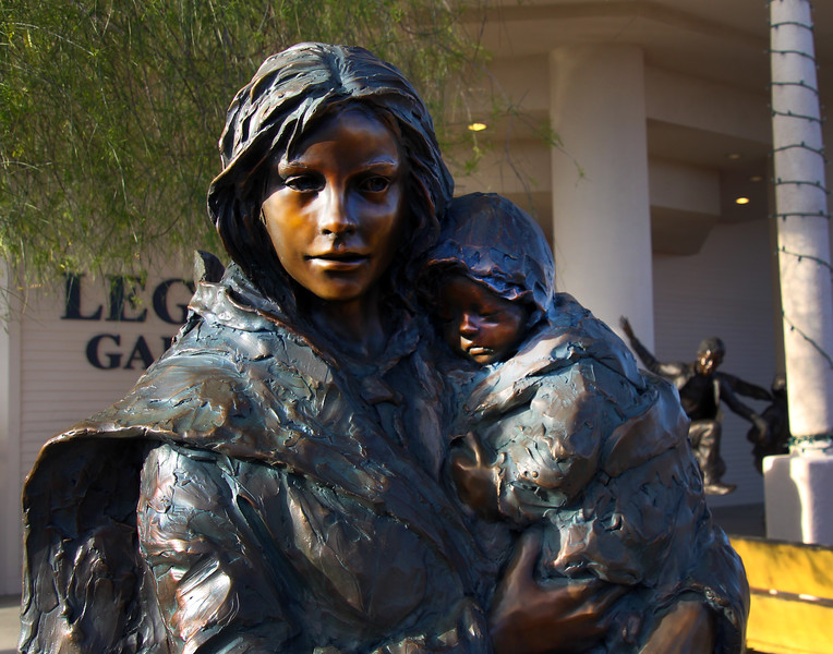 Arizona, Scottsdale, Old Town, Legacy Gallery Bronze