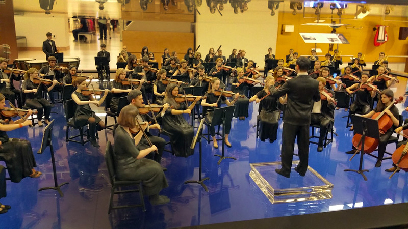 Arizona, Scottsdale, MIM, Orchestra Figures