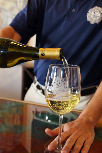 Arizona, Scottsdale, Robert Carlson Winery pour
